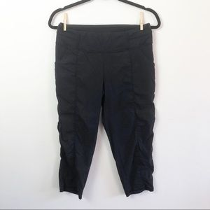 Lucy Black Pull On Hiking Athletic Pants Small